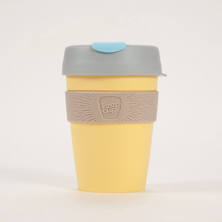 Product shot: KeepCup Lemon Baby Reusable Travel Cup 340ml