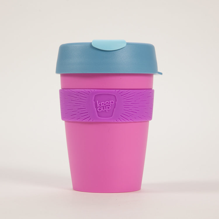 Product shot: KeepCup Bubblegum Candy Reusable Travel Cup 340ml