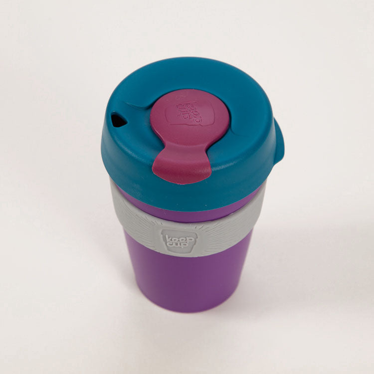 KeepCup Sphere Reusable Travel Cup 340ml, shot from above