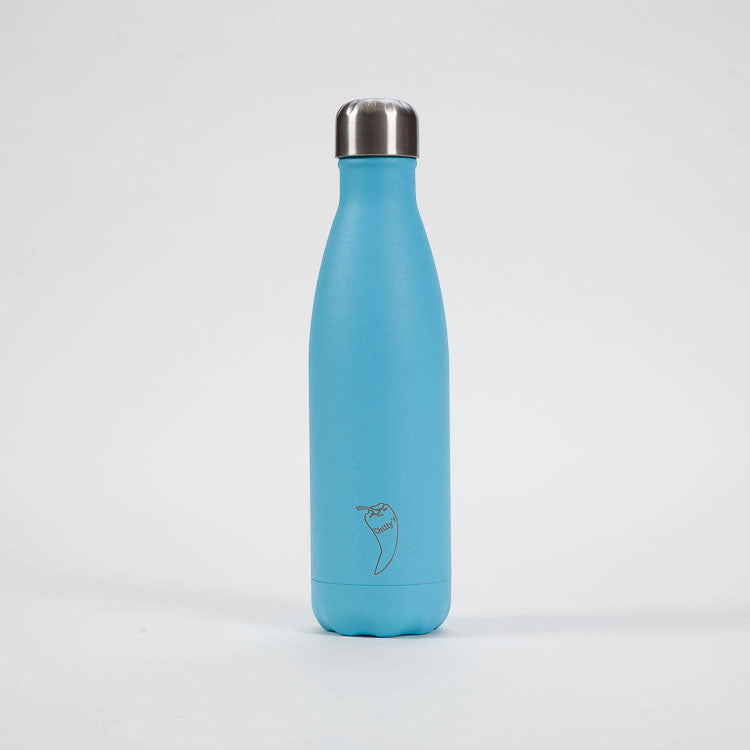 Product shot: CHILLY'S Pastel Blue Bottle 500ml