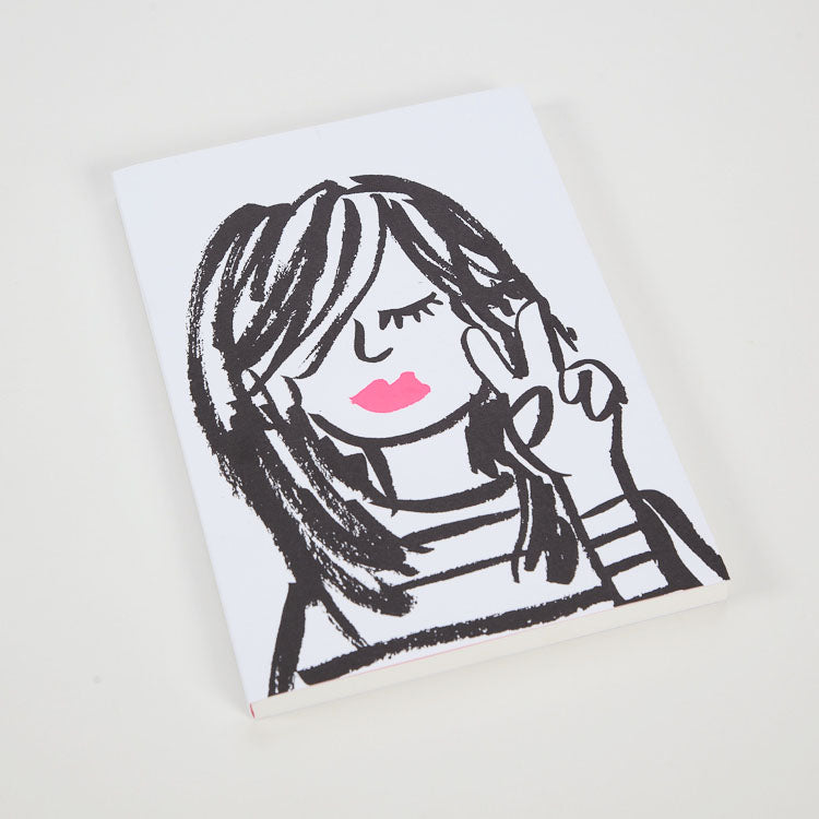 Product shot:1973 Cool Girl A5 Notebook