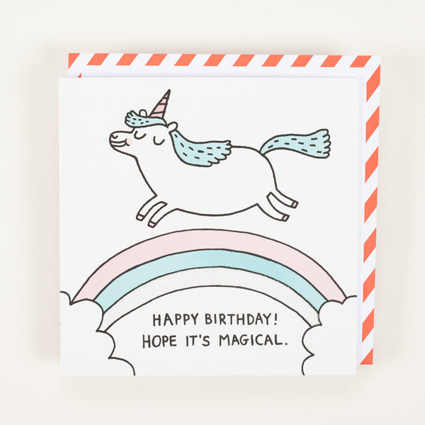 Product shot of Ohh Deer Magical Birthday Greeting Card