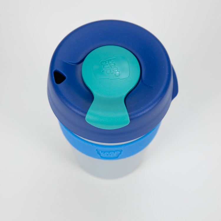 KeepCup Sea Reef Reusable Travel Cup 340ml - detail shot