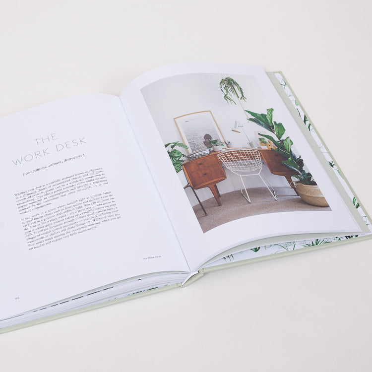Inner spread from the House of Plants Book