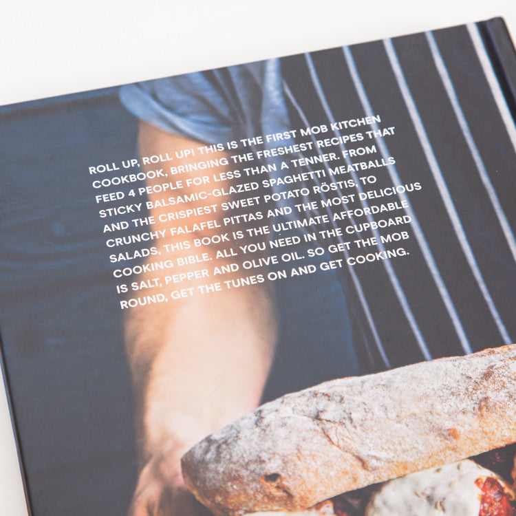Product shot of Mob Kitchen: Feed 4 or More for under £10 - Back cover