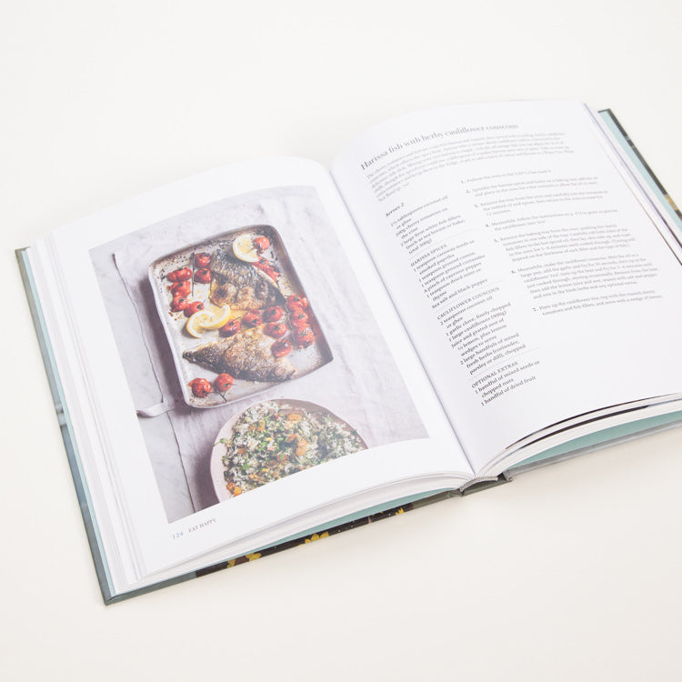 Product shot of Eat Happy: 30-minute Feelgood Food - Inner page