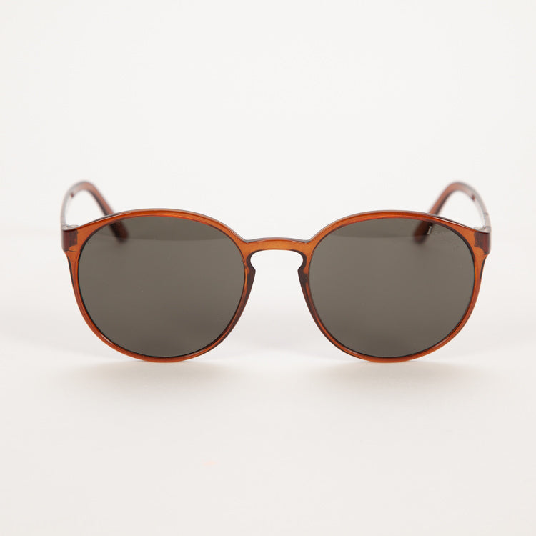 Product shot of Le Specs Limited Edition Swizzle Frosted Stone Sunglasses