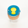 Product shot, from above: KeepCup Brew Cork Edition Turbine 12oz / 340ml Cup