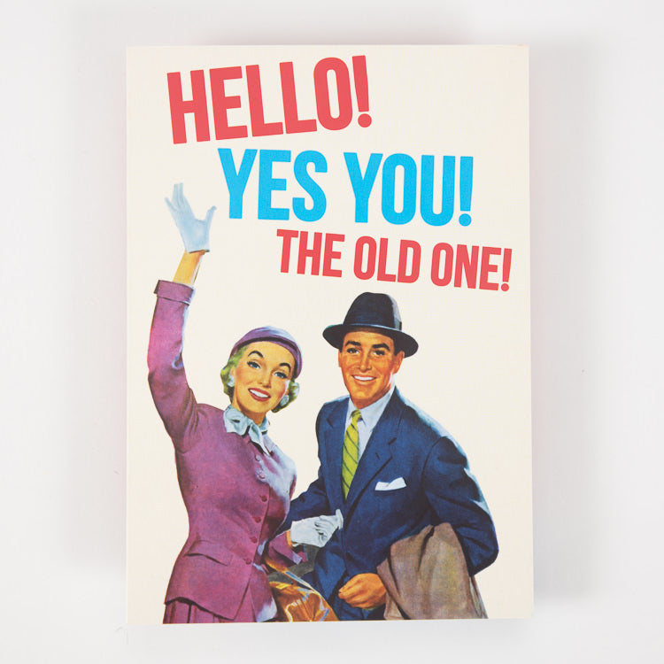Dean Morris Cards Hello! Yes You! Greetings Card