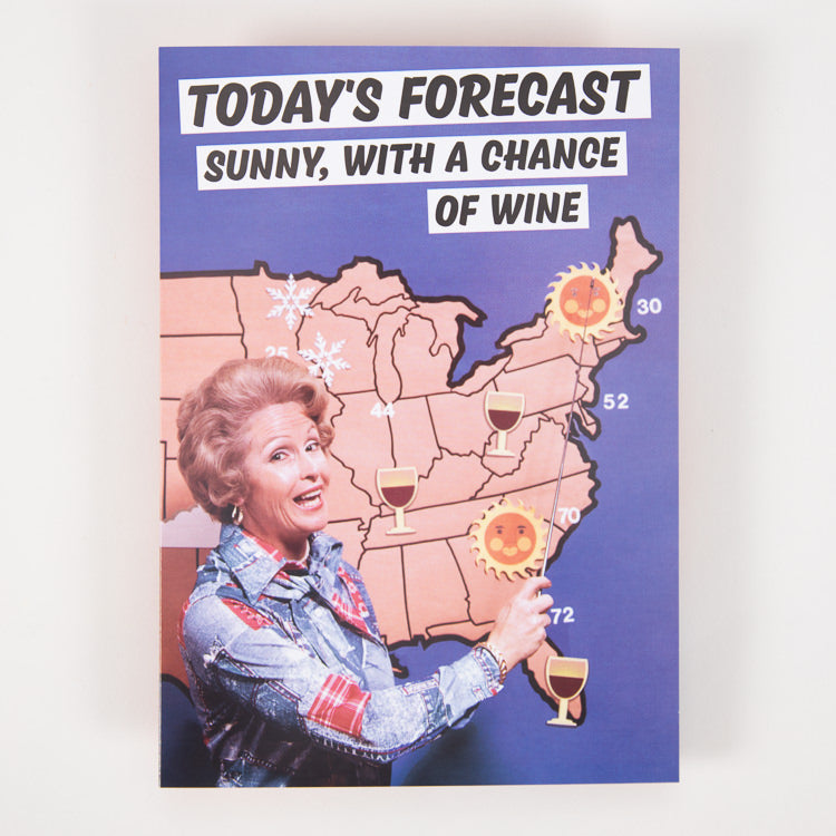 Dean Morris Cards Today's Forecast Greetings Card