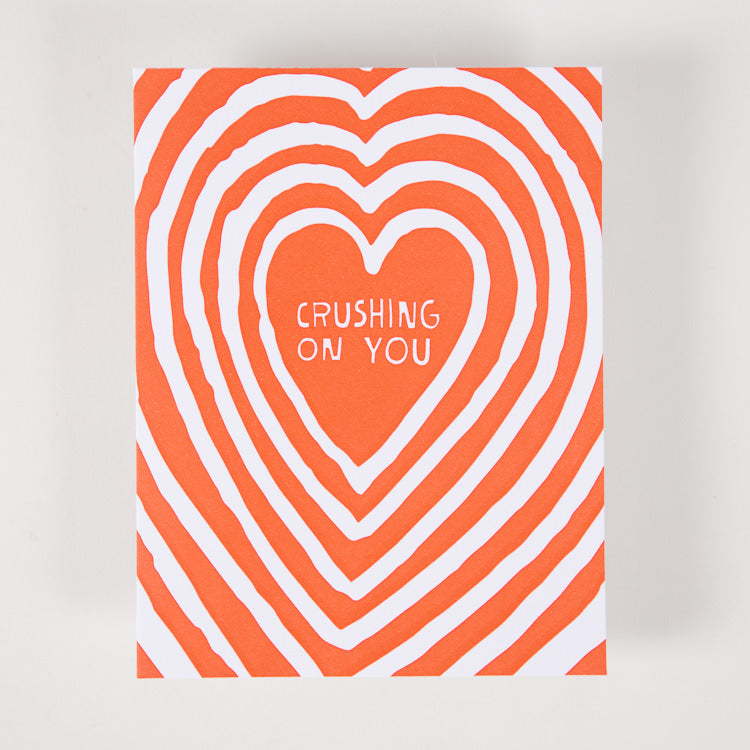 Ashkahn 'Crushing on You' Greetings Card