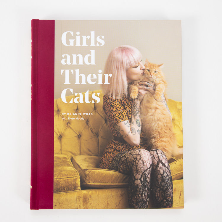 Girls And Their Cats By Brianne Wills - alternative view