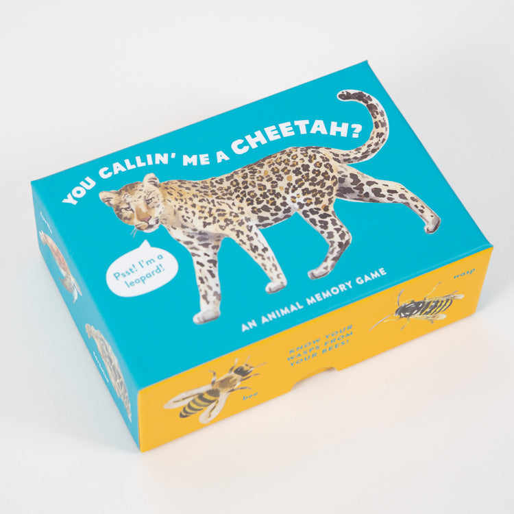 You Callin' Me A Cheetah? Animal Memory Game