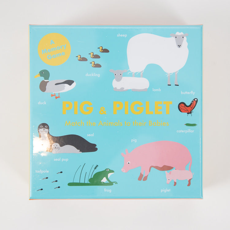 Pig & Piglet Memory Game - front cover
