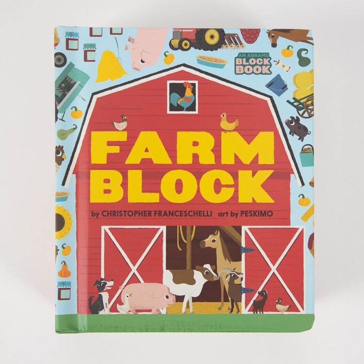 Abrams Appleseed's Farm Block Book  - front cover