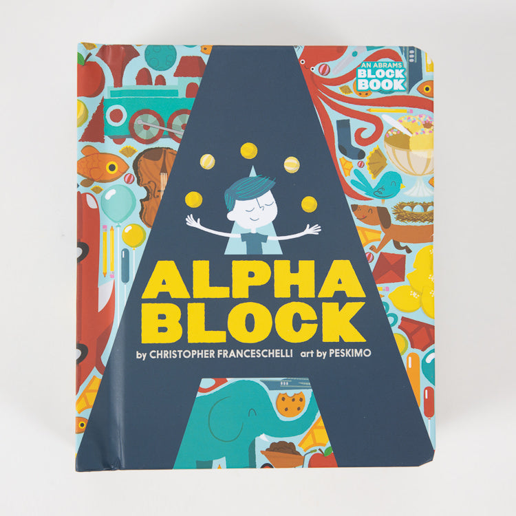Alpha Block Book by Christopher Franceschelli - front cover