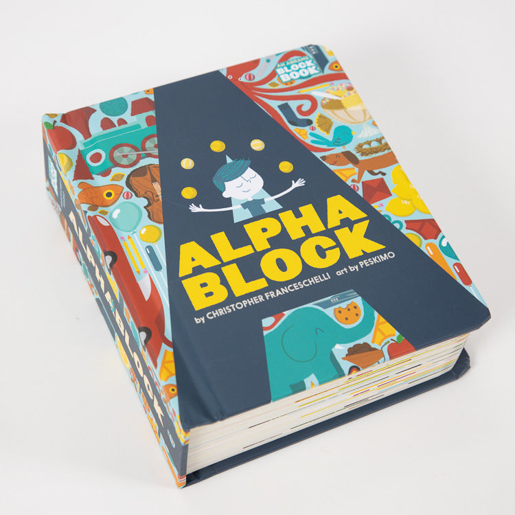Alpha Block Book by Christopher Franceschelli