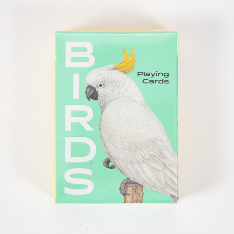 Birds Playing Cards - front cover