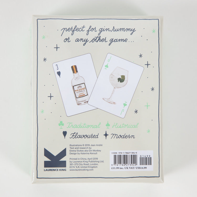 Gin Rummy Playing Cards - back cover