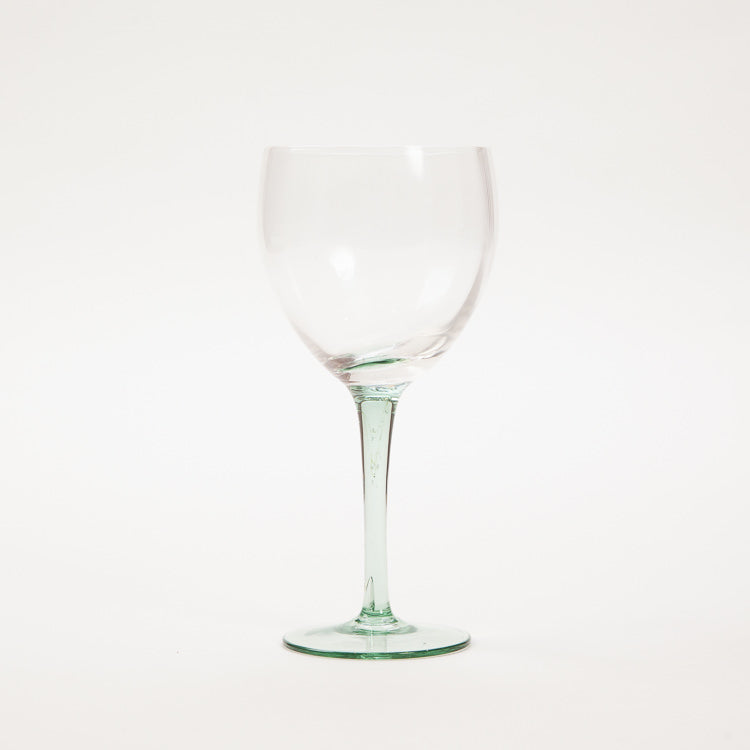 Bloomingville Green Wine Glass