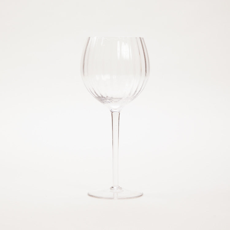 Bloomingville Clear Wine Glass