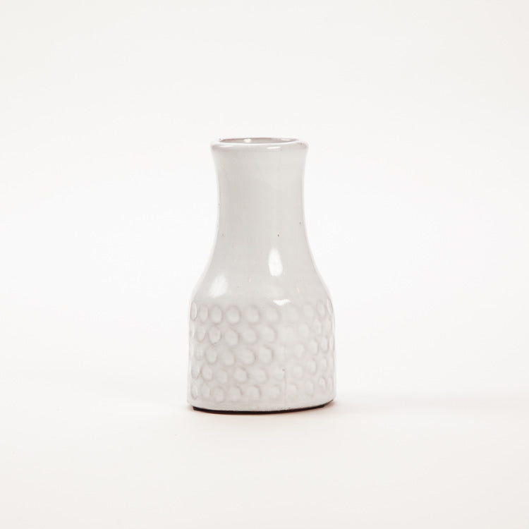 Bloomingville White Terracotta Vase