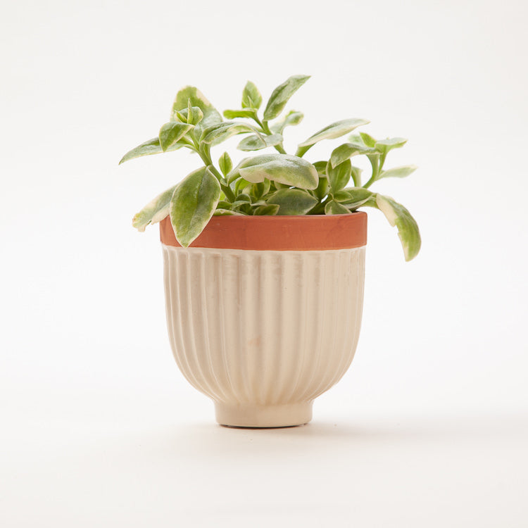 Bloomingville Nature Stoneware Flower Pot