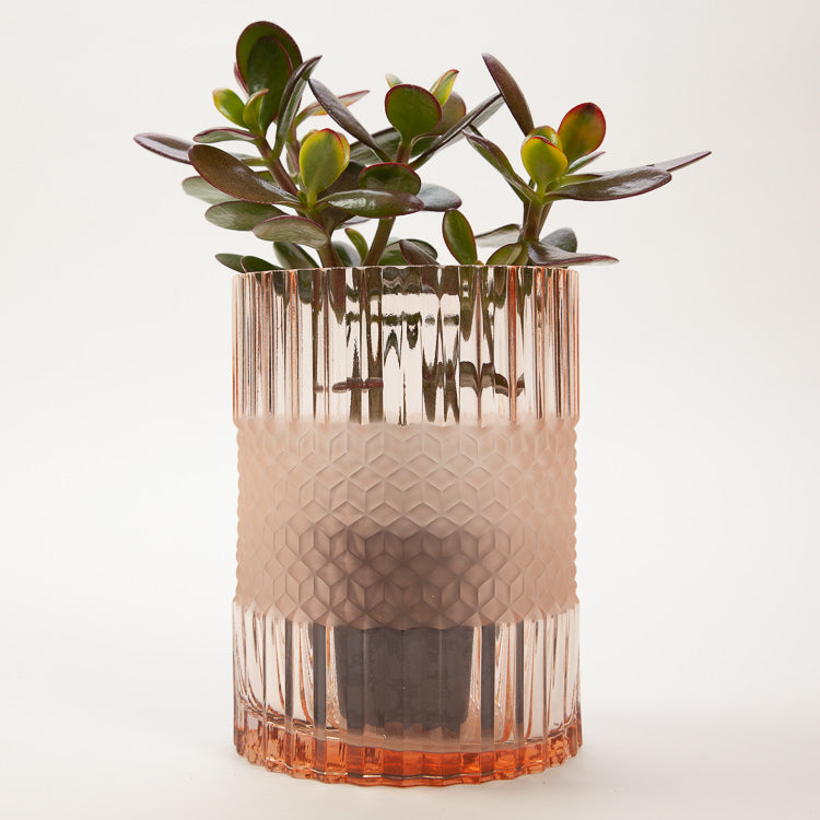 Bloomingville Rose Glass Vase