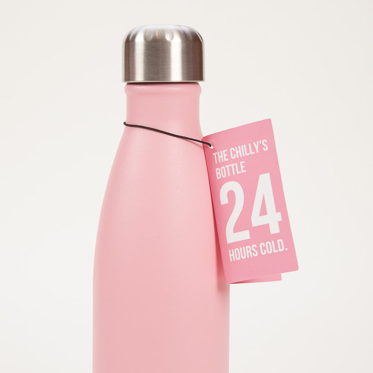 Chilly's Pink Pastel Drinking Bottle 500ml