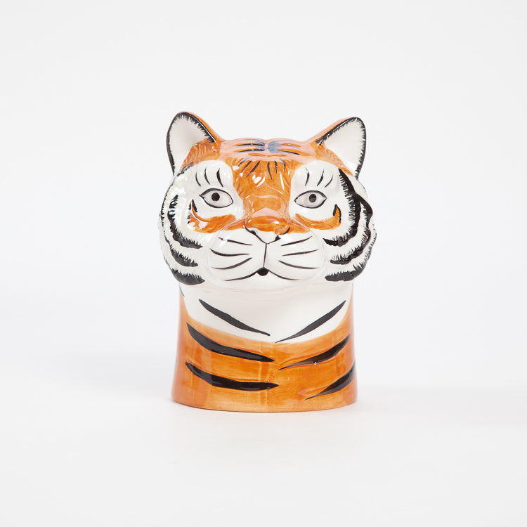 Product shot: Rice Tiger Ceramic Vase