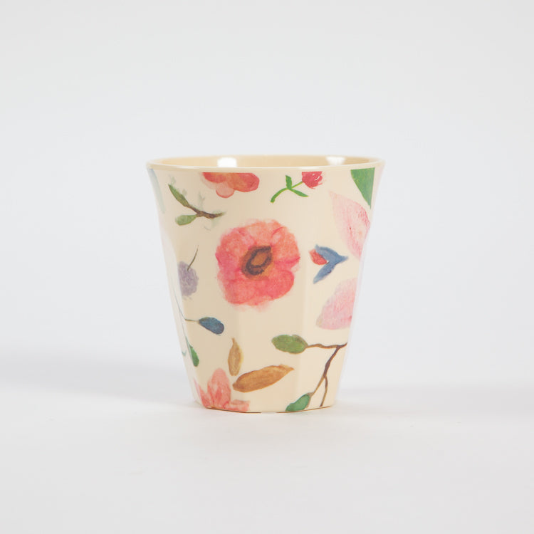 Rice Medium Selmas Flower Print Cup