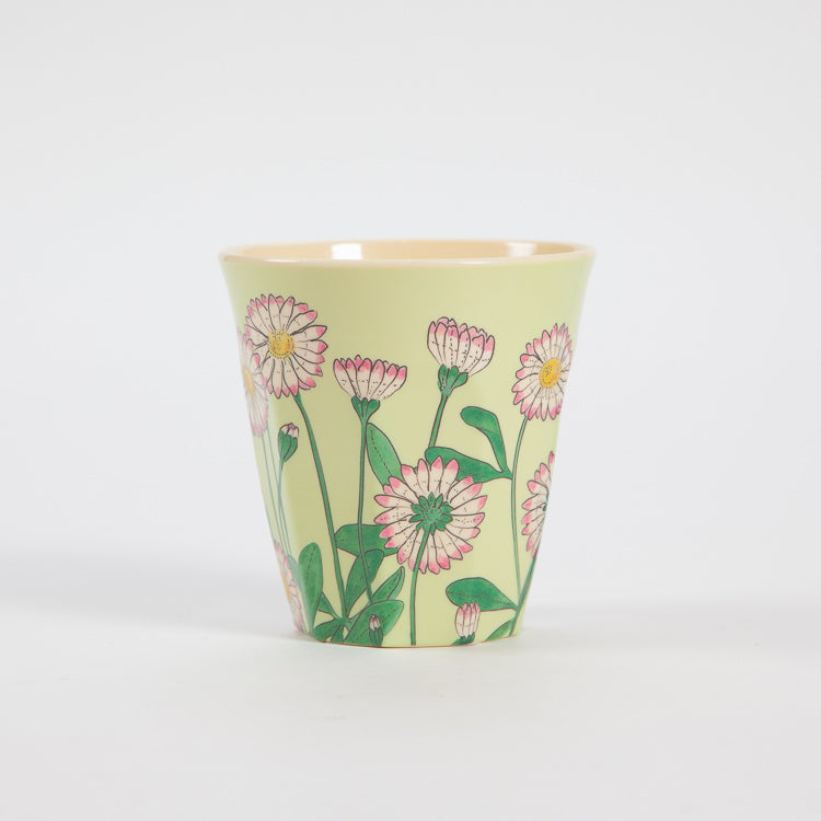 Rice Medium Daisy Print Cup