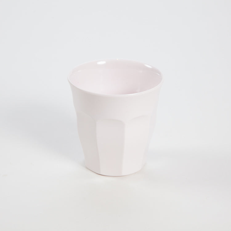 RICE Solid White Melamine Cup
