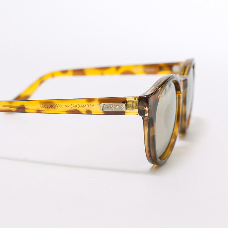 Le Specs Hey Macarena Syrup Tort Sunglasses - close up frame