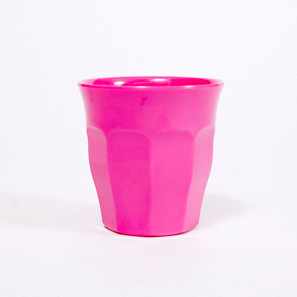 RICE Solid Fuchsia Melamine Cup