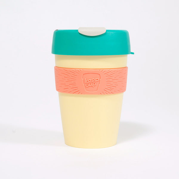 KeepCup Reusable Travel Cup 340ml | Custard Apple - on white background