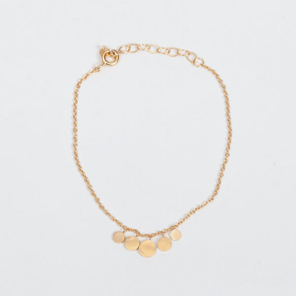 Product shot of the Pernille Corydon Mini Coin Gold Bracelet