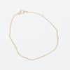 Product shot of the Pernille Corydon Gold Facet Plain Bracelet