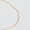 Detail shot of the Pernille Corydon Gold Facet Plain Bracelet