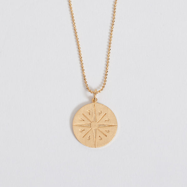 Detail shot of the Pernille Corydon Gold Cicerone Necklace