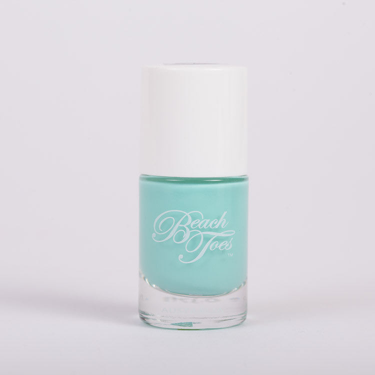 Beach Toes Turquoise Bay Bright Turquoise Nail Polish