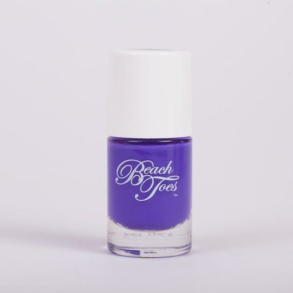 Beach Toes Smoke On The Water Deep Purple Nail Polish