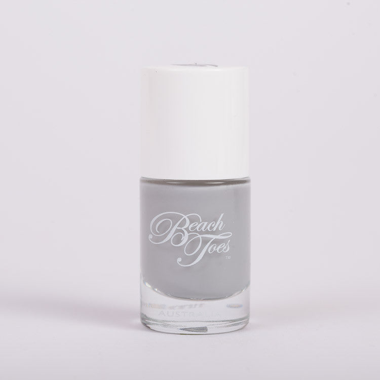 Beach Toes Shipwrecked Light Grey Nail Polish
