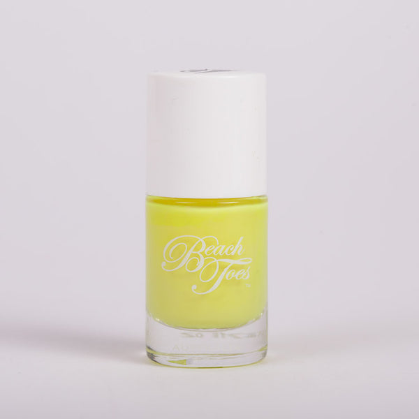 Beach Toes Scary Canary Neon Yellow Nail Varnish