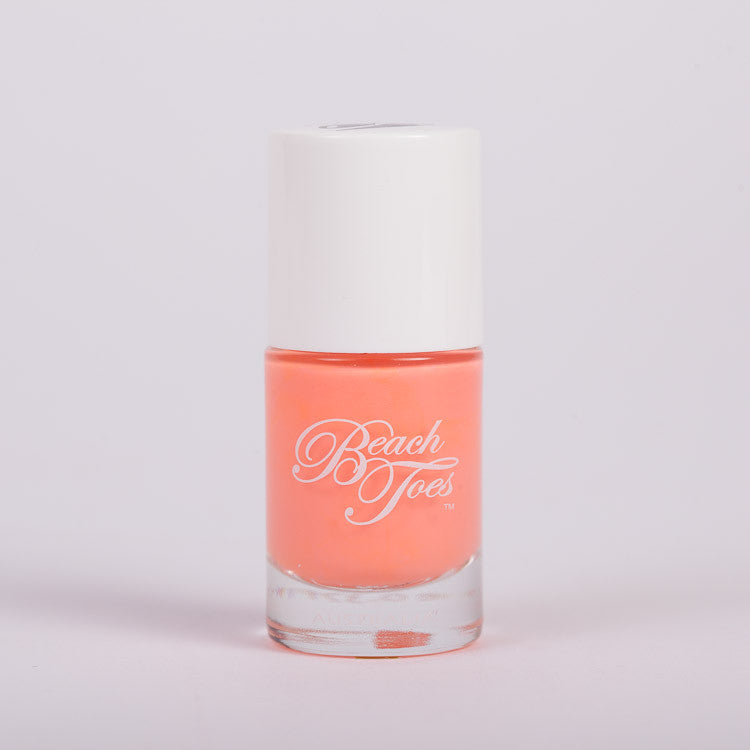 Beach Toes Endless Summer Bright Pastel Coral Nail Polish