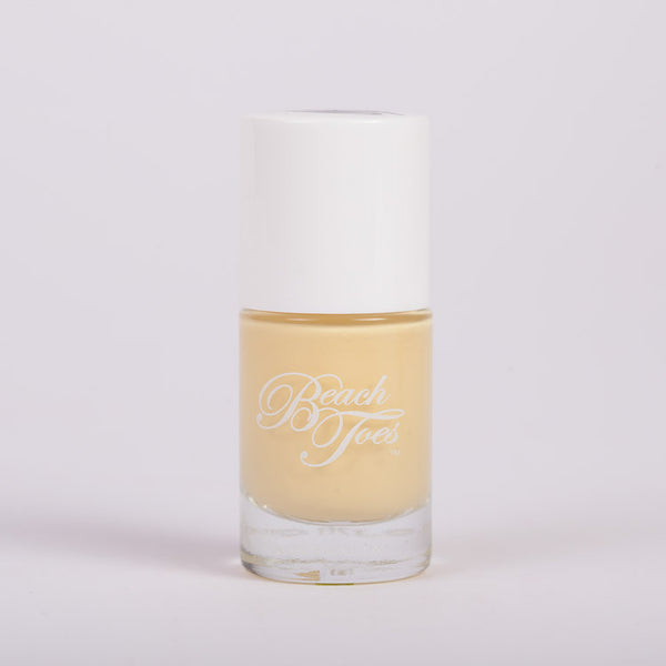 Beach Toes Pina Colada Pale Yellow Nail Polish