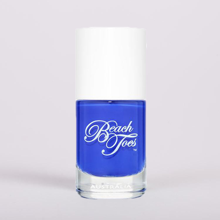 Beach Toes Royal Marine Nail Polish