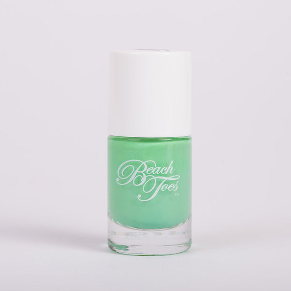 Beach Toes Offshore Breeze Bright Pastel Green Nail Polish