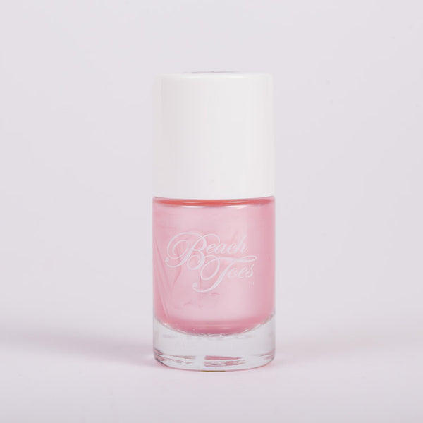 Beach Toes Liquid Fantasea Light Pink Pearl Nail Polish