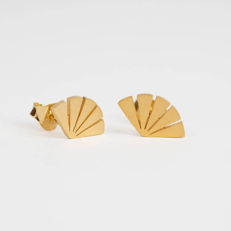 Pernille Corydon Dawn Gold 12mm Earsticks